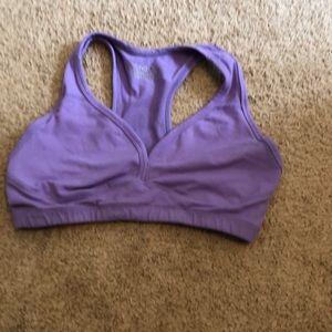 Beyond yoga purple bra. Medium